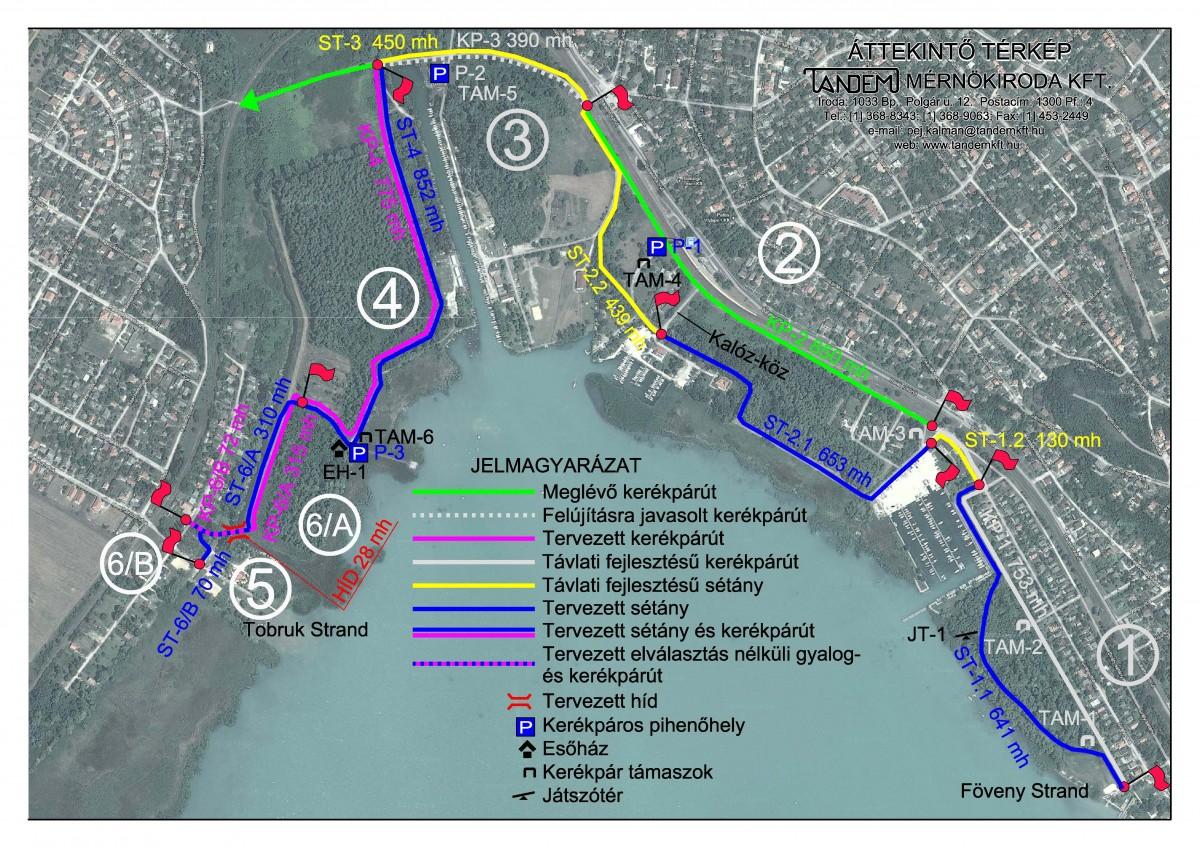 balatonfűzfő térkép Megvalósul a parti sétány és kerékpárút projekt | Balatonfűzfő  balatonfűzfő térkép